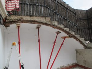 Reparación Estructura Calle Rosellón - Barcelona